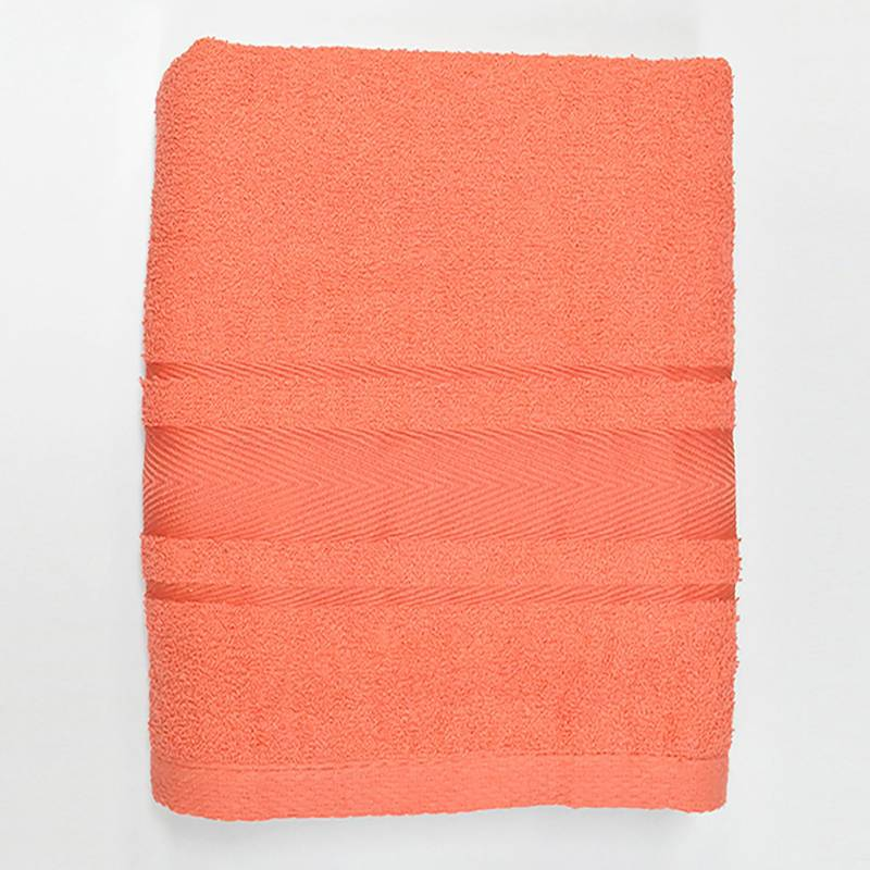 Telary - Toalla de Cuerpo 420 g Tfuzzy Coral 70 x 130 cm