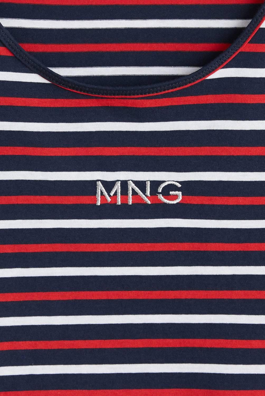 MNG - Camiseta Mujer Manga Corta Mango