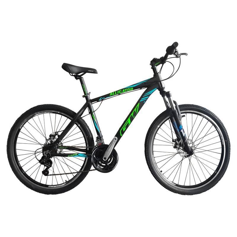 GW - Bicicleta de Montaña GW Alligator 27,5 Pulgadas