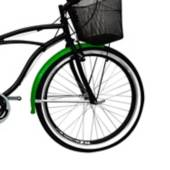 Victory - Bicicleta urbana 26 pulgadas Playera