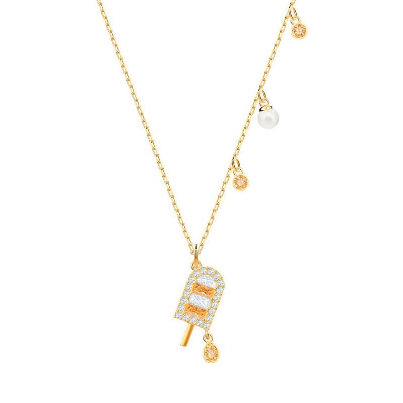 Swarovski - Collar Bañado En Oro 5465294