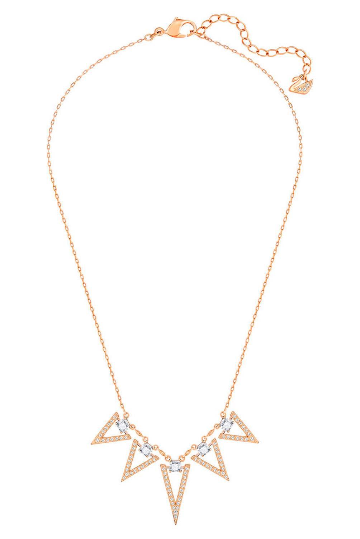 Swarovski - Collar bañado en oro rosado 5241273
