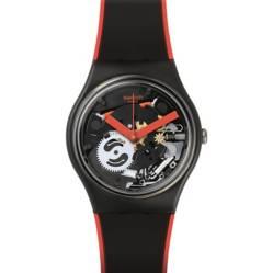 Swatch - Reloj Unisex Swatch Red Frame GB290