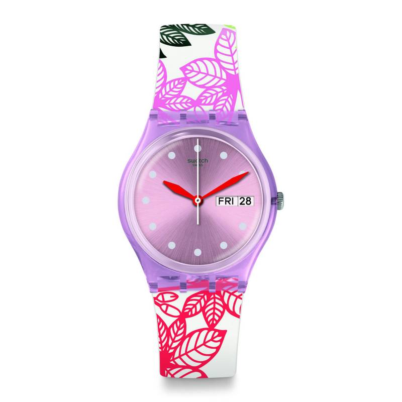 Swatch - Reloj Mujer Swatch Summer Leaves GP702