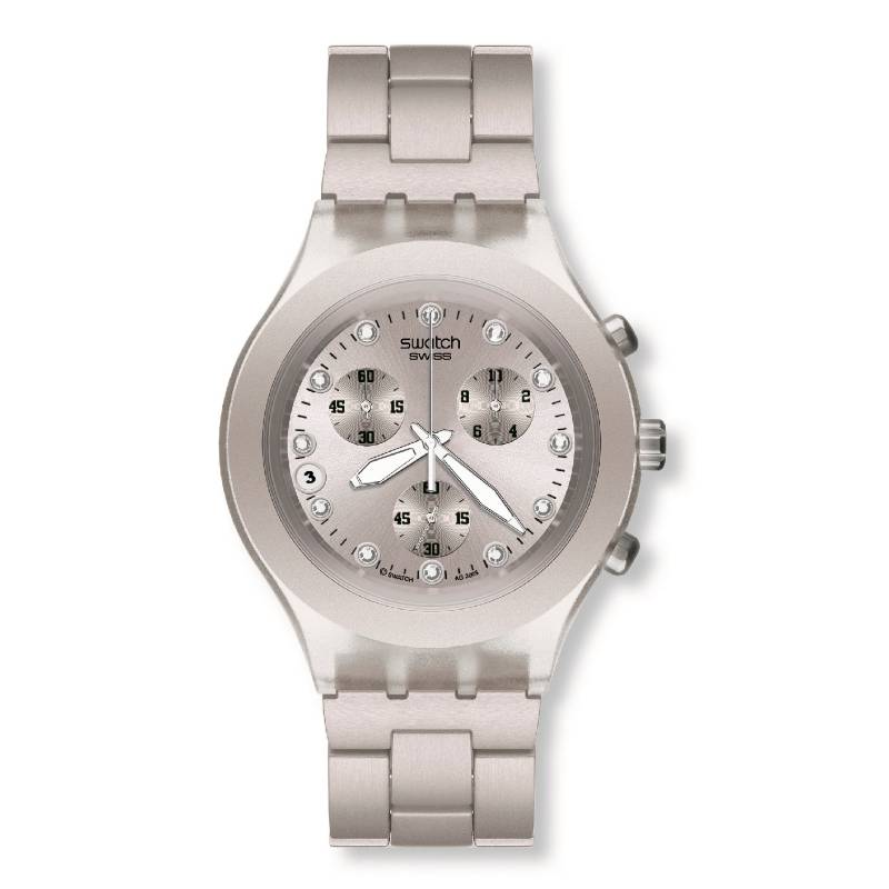 Swatch - Reloj Mujer Swatch Full-Blooded Silver SVCK4038G