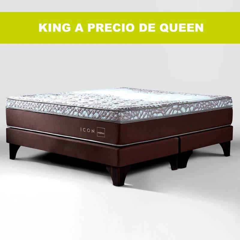 Colchones Rosen - Colchón con base King Icon Intermedio