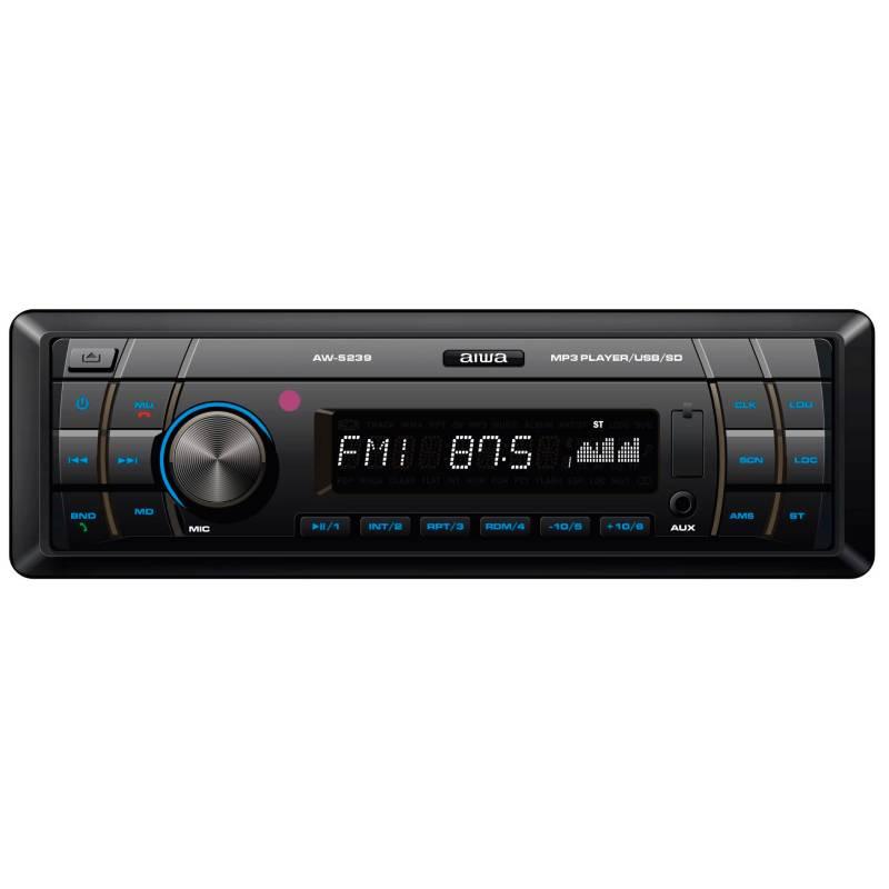 Aiwa - Radio Carro Bluetooth USB AM FM