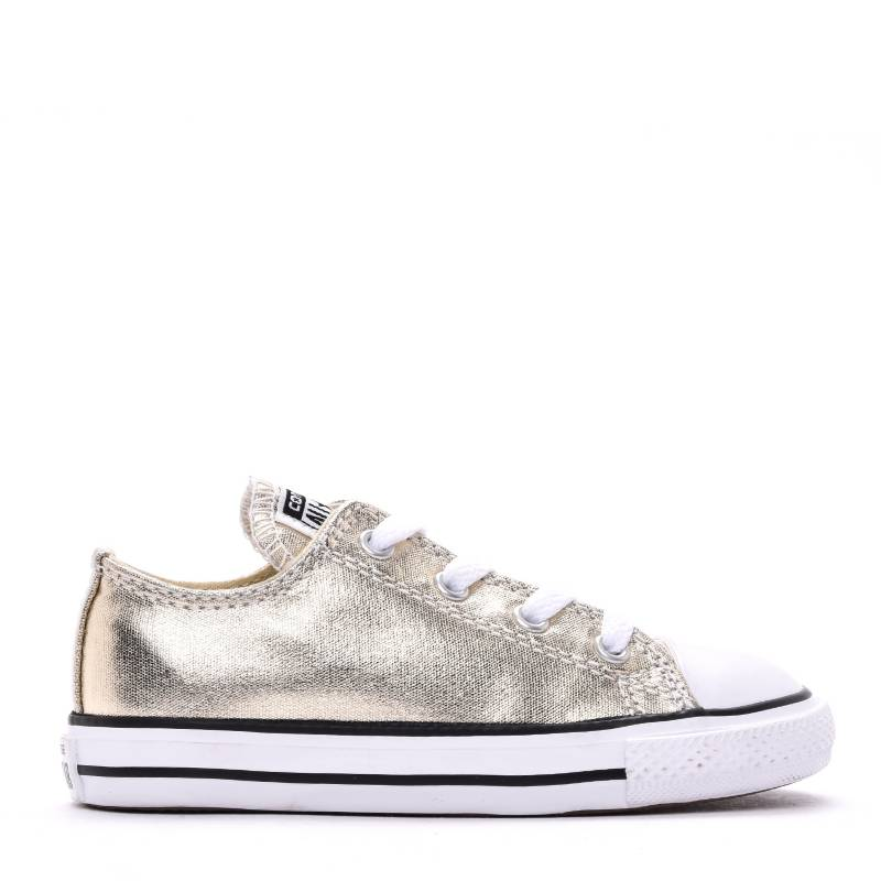 Converse - Tenis Moda Niña Light Gold