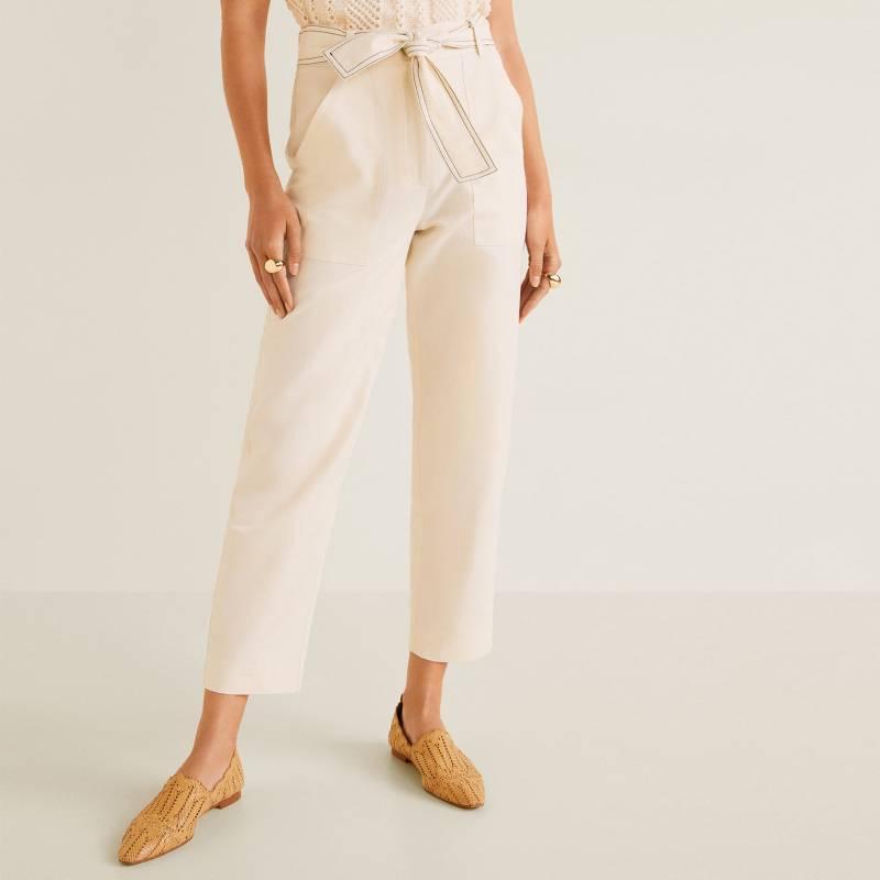 MNG - Pantalón Flare Mujer Mango