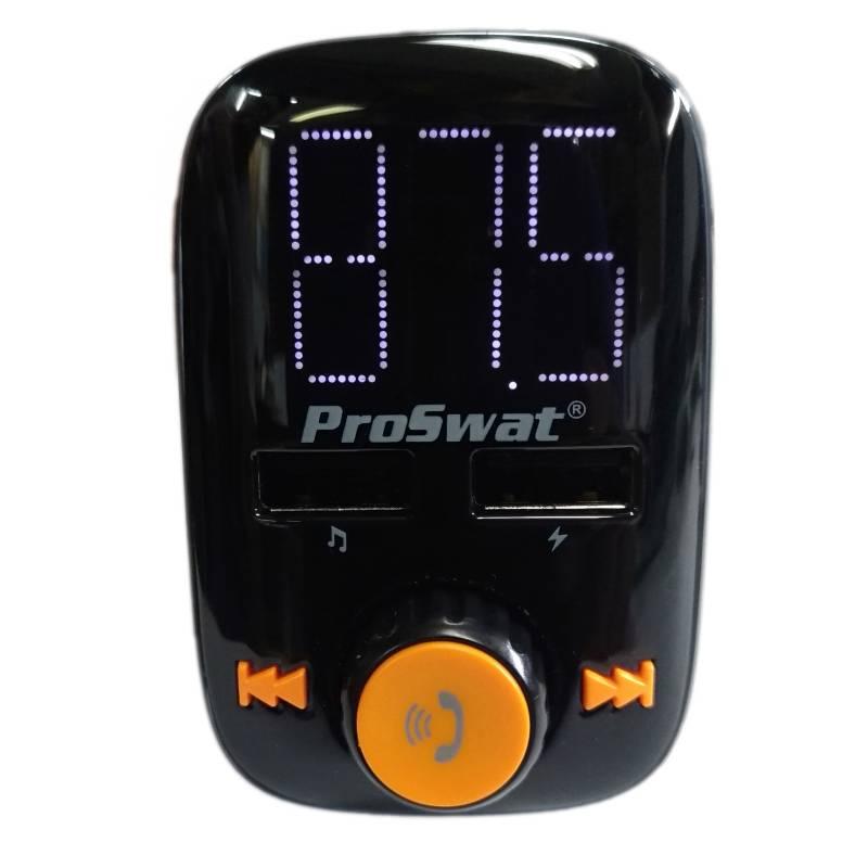 Proswat - Transmisor FM Bluetooth, USB para Carro Proswat Pro-60FM