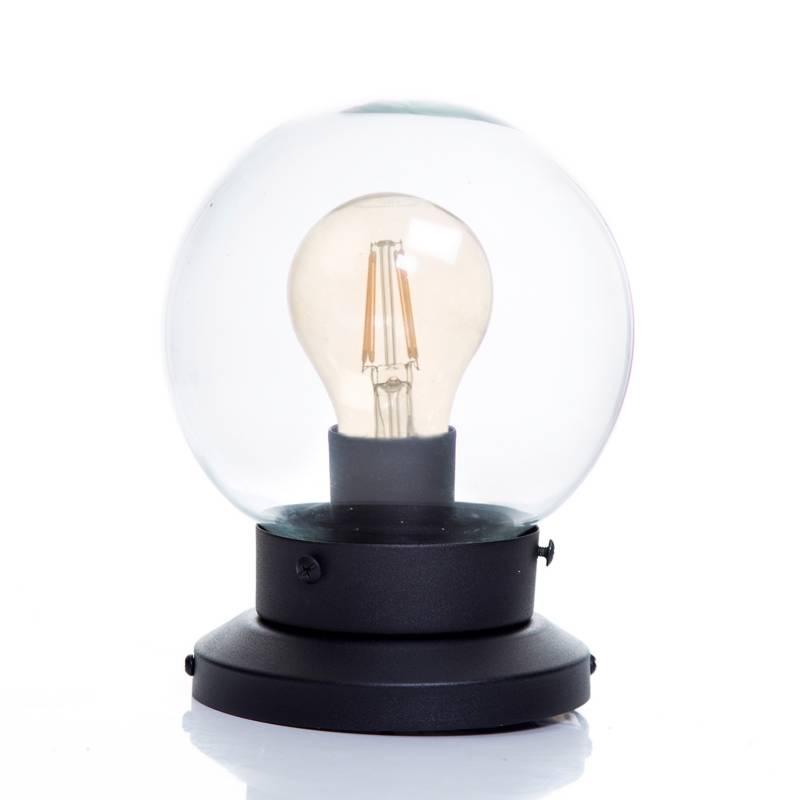 Vida útil - Lámpara de Techo y Pared Calisto 1A Negro Mate