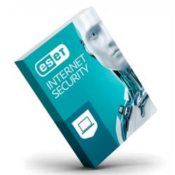 Eset - Antivirus Eset Internet Security 3 Usuarios 1 año