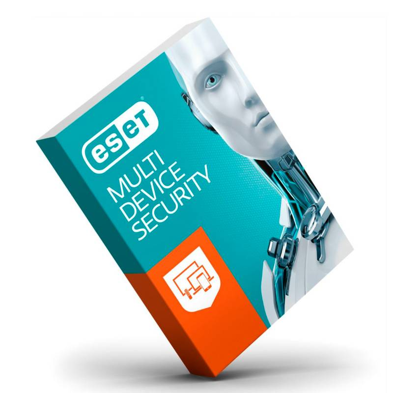 Eset - Antivirus Eset Multidevice 5 Usuarios 1 año