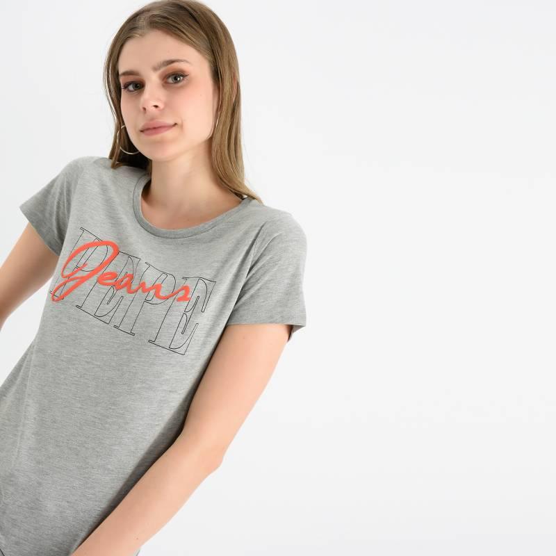 Pepe Jeans - Camiseta Mujer Manga Corta Pepe Jeans