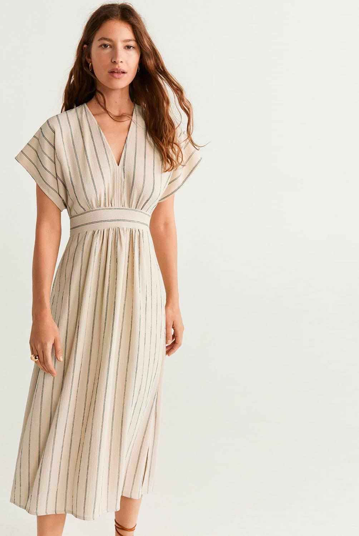 MNG - Vestido Medio Bambú