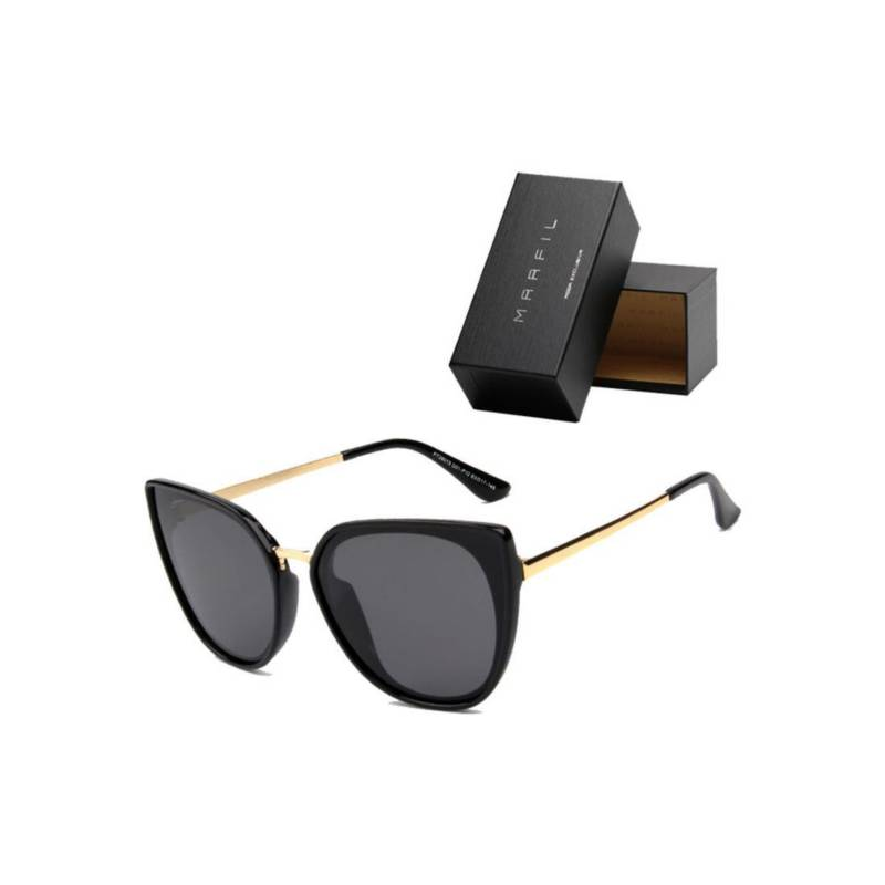 Marfil - Gafas de sol Polarizadas Negro Marfil CatEye