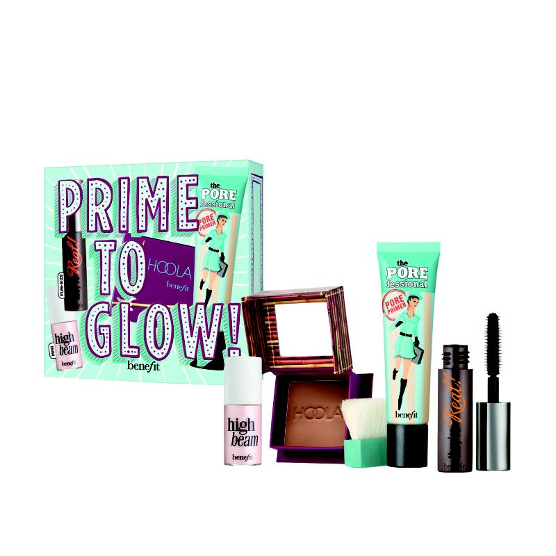 Benefit - Kit Prime To Glow
