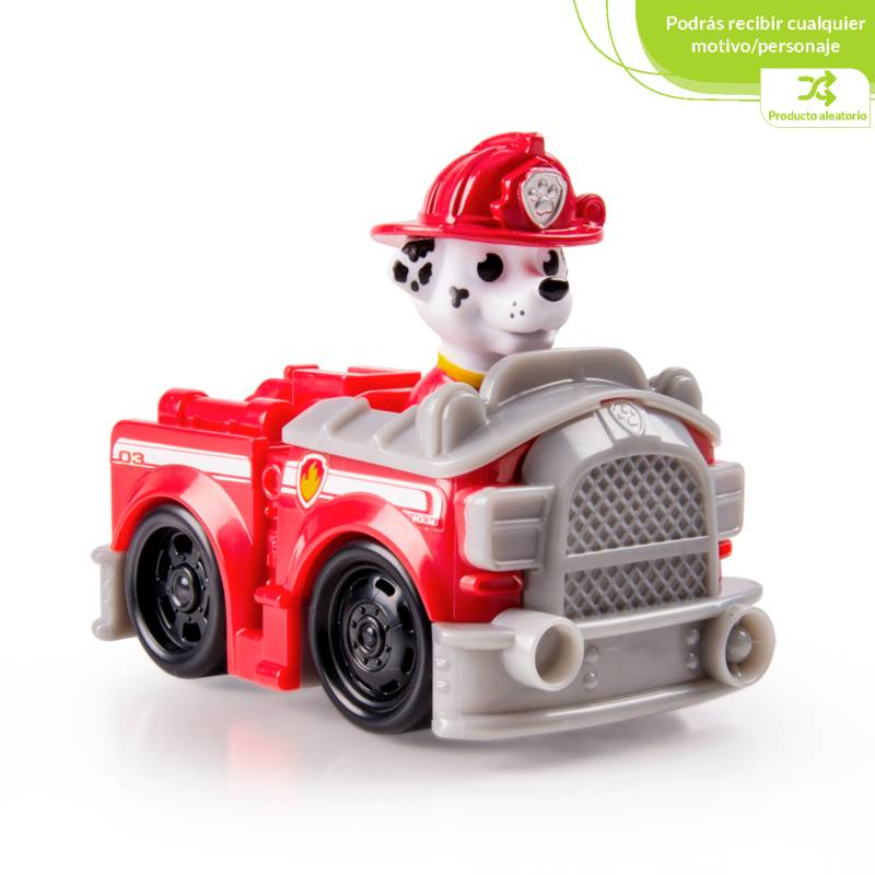 Paw Patrol - Mini Vehiculos Corredores