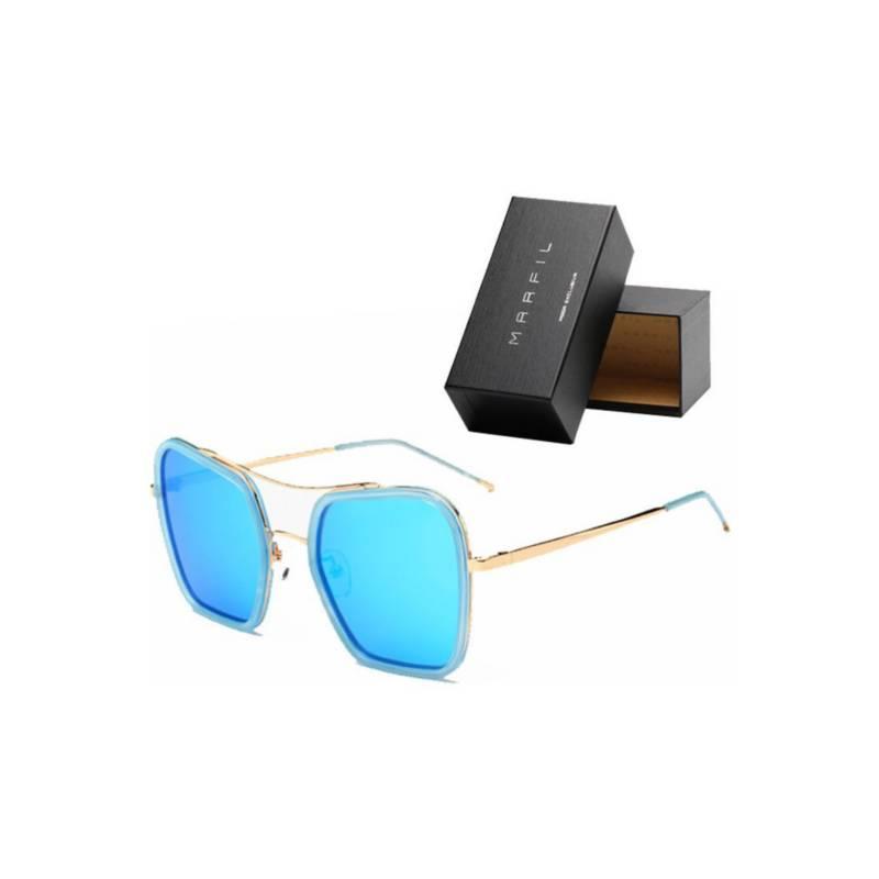 Marfil - Gafas de sol Marfil Originales Cuadrada Azul