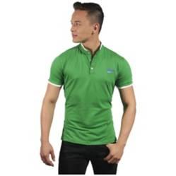 Camiseta Polo Hombre Slim Fit Verde