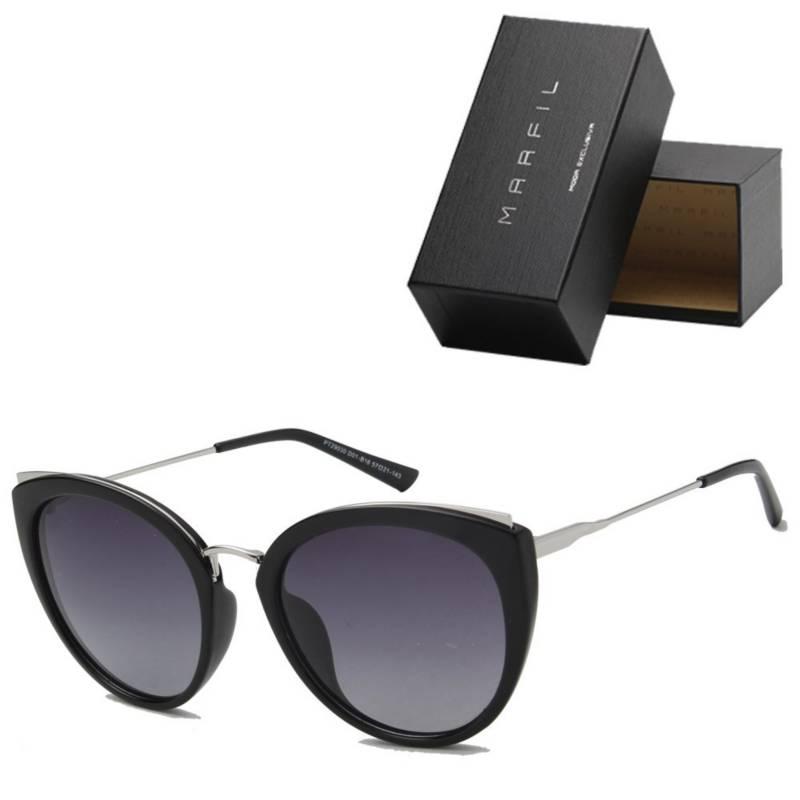 Marfil - Gafas de sol Marfil Originales Cat Eye Negro