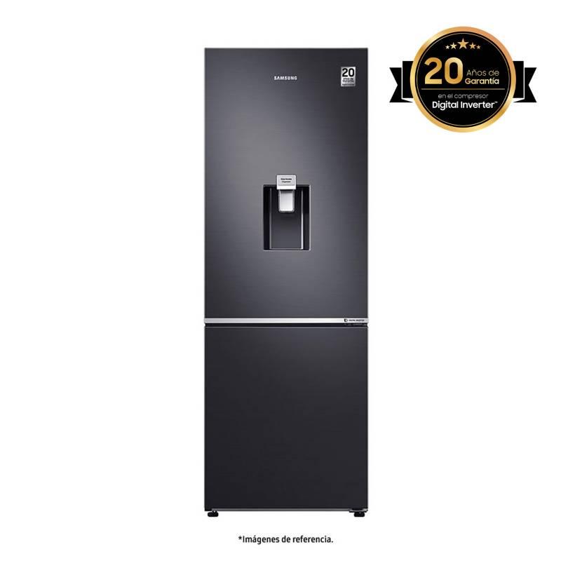 Samsung - Nevera Samsung Congelador Inferior No Frost 284 lt RB30N4160B1/CO