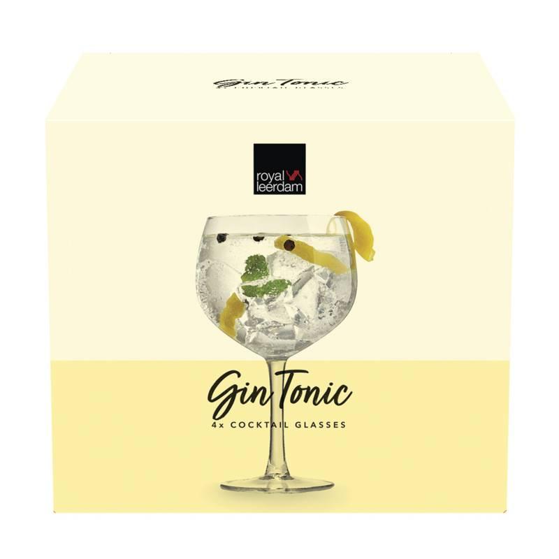 Royal Leerdam - Set x4 Gin Tonic
