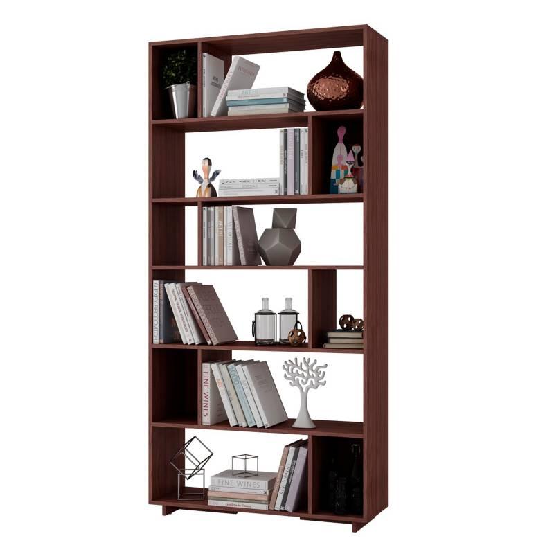 Brv - Estante Multiusos Tipo Biblioteca
