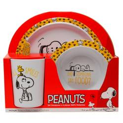 Snoopy - Set de Melamina Snoopy