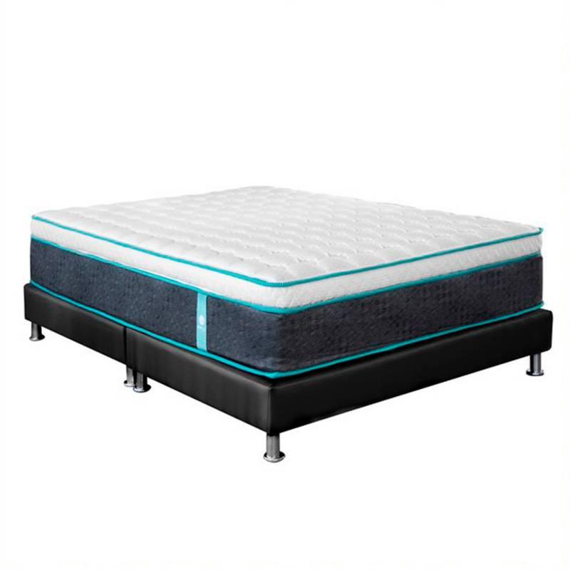 Boxi Sleep - Colchón con basecama Semidoble Boxi Life Firme