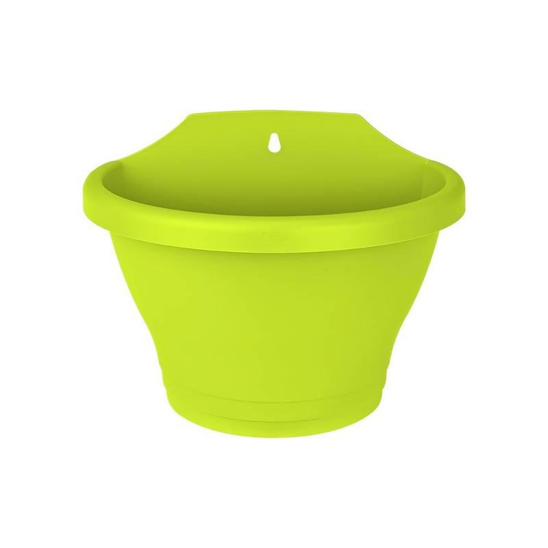 Elho - Matera plástica wall basket 25cm verde lima