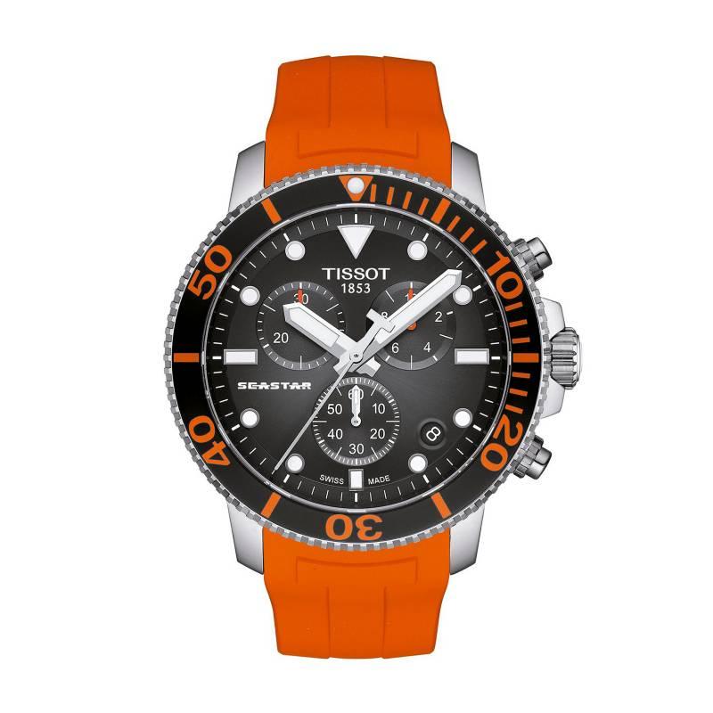 Tissot - Reloj Hombre Tissot SeaSTAR 1000 Chronograph T120.417.17.051.01