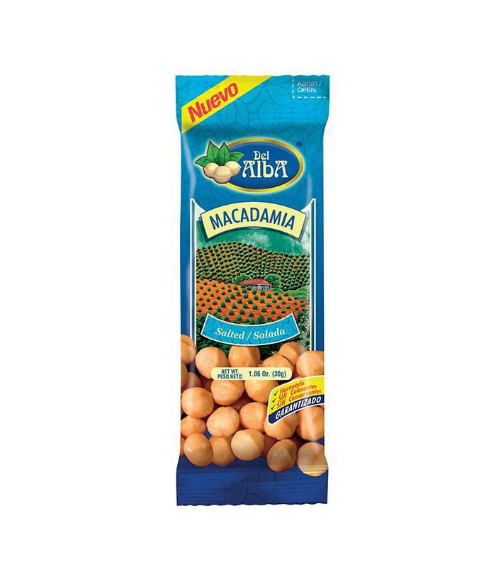 Del Alba - Macadamia Salada X 30G