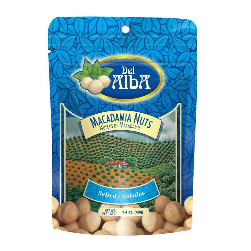 Del Alba - Macadamia Salada X 40G