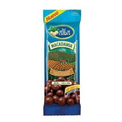Del Alba - Macadamia Caramelizada Cubierta Con Chocolate X30G