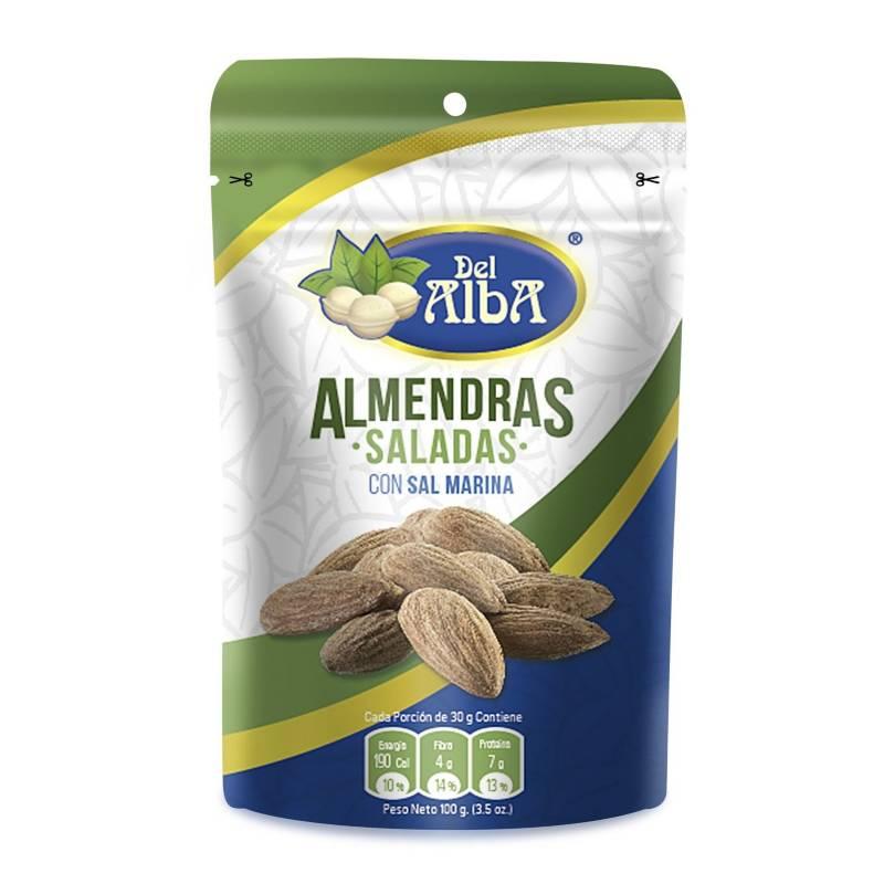 Del Alba - Almendra Salada X 100G