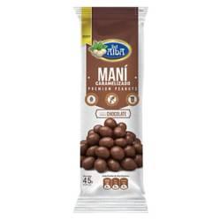 Del Alba - Maní Horneado Con Chocolate X45G