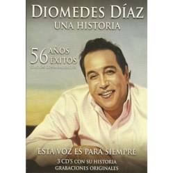 Elite Entretenimiento - Diomedes Diaz 56 Años 56 Exitos Vol 1 (Cdx3)