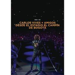 Carlos vives+Amigos desde el estadio el campin  DVD+CD