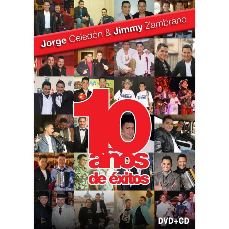 Elite Entretenimiento - Jorge Celedon 10 Años De Exitos (Dvd+Cd)