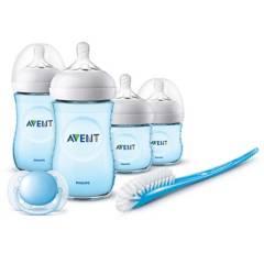 Avent - Set De Inicio Para Recién Nacidos Natural 2.0 Azul