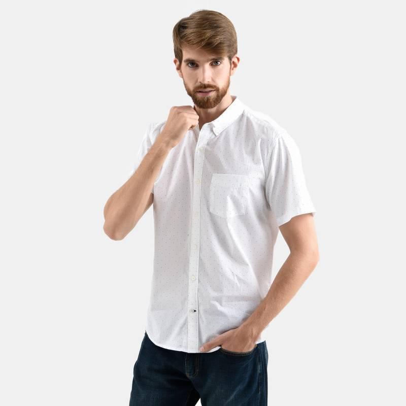 GAP - Camisa Casual Hombre Manga Corta Gap