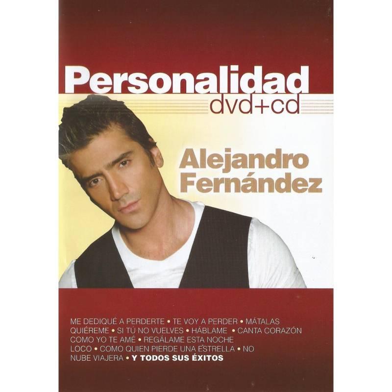 Elite Entretenimiento - Alejandro Fernandez Personalidad (Dvd+Cd)