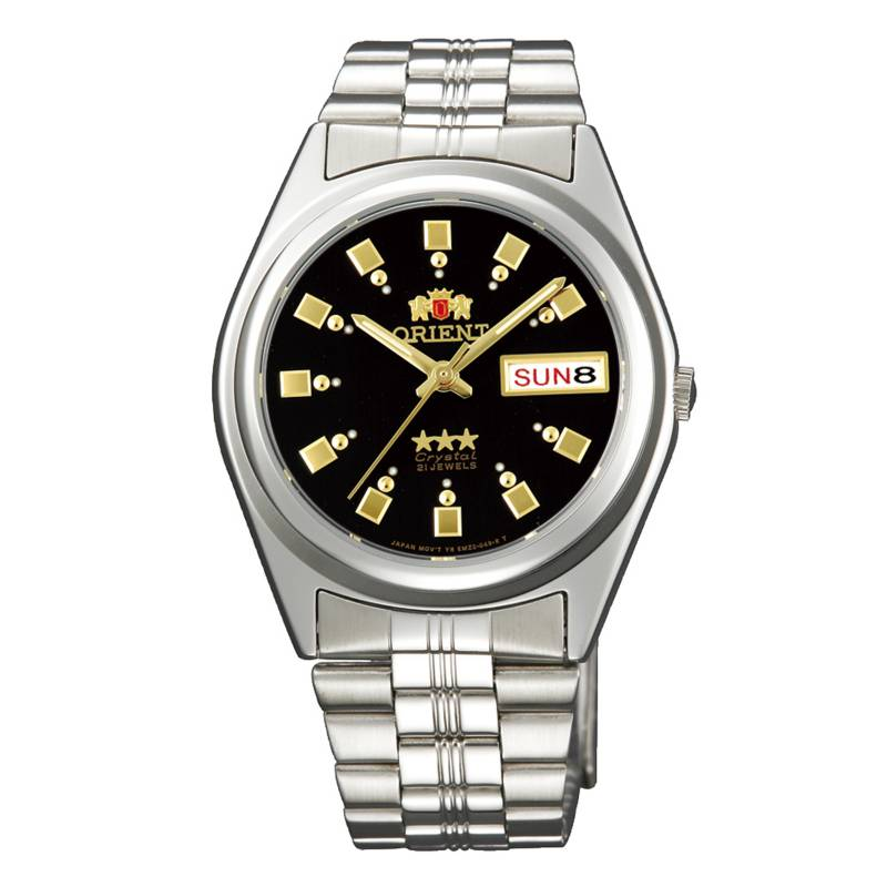 Orient - Reloj Automático Acero Hombre FAB04003B