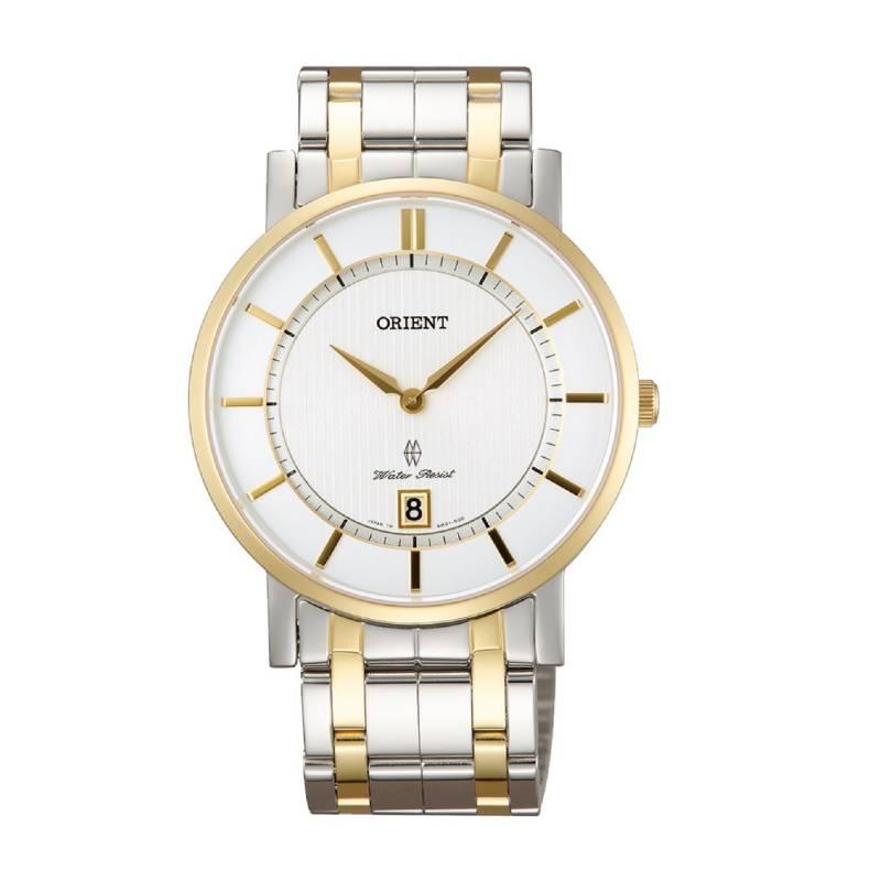 Orient - Reloj Acero Quartz Hombre FGW01003W