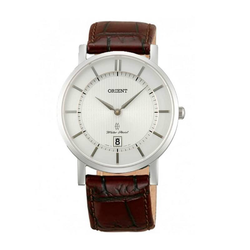 Orient - Reloj Cuero Quartz Hombre FGW01007W