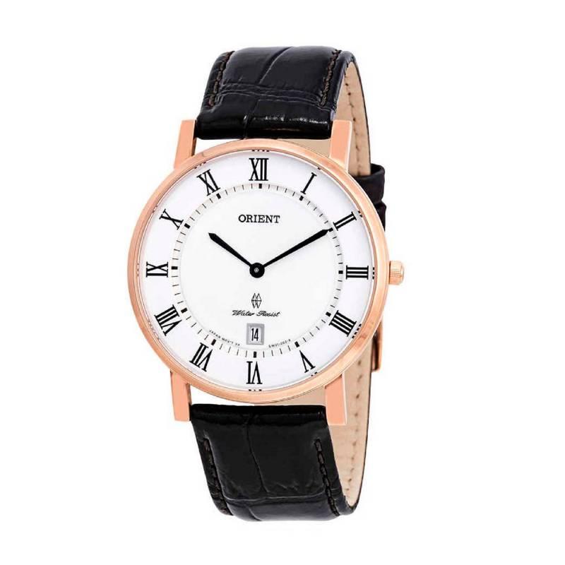 Orient - Reloj Cuero Quartz Hombre FGW0100EW