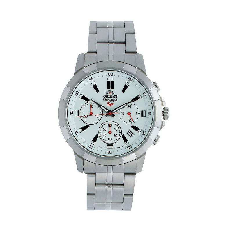 Orient - Reloj Acero Quartz Hombre FKV00004W
