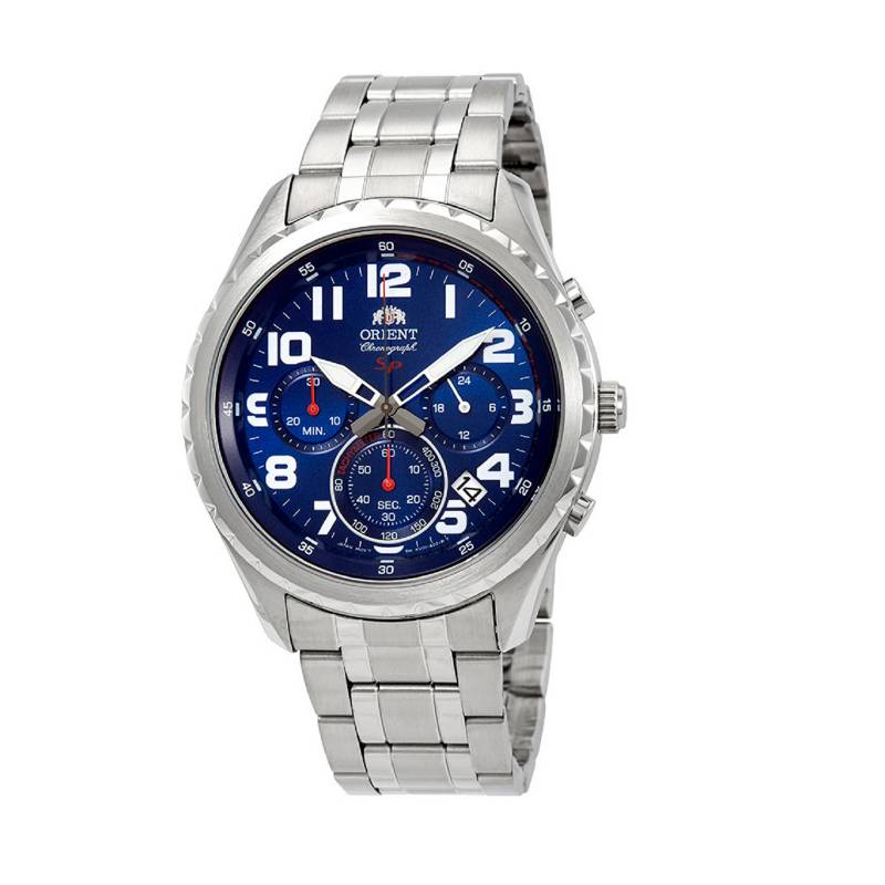 Orient - Reloj Acero Quartz Hombre FKV01002D