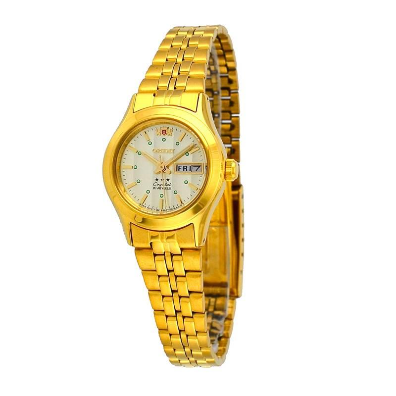 Orient - Reloj Automático Acero Mujer FNQ0400FC